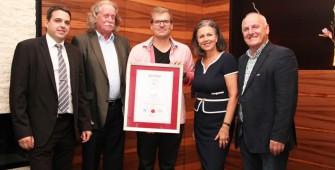 Verleihung Zertifizierung Tiroler Hausmeister-Service an Erik Stingl